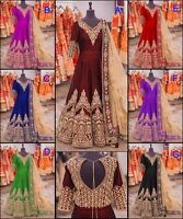 Designer Indian Dress PAKISTANI Salwar Kameez Bollywood Anarkali Suit SALWAR EDH