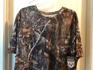 NEW RealTree By Antler Creek Camouflage T Shirt Size 2XL