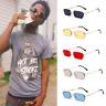 Mens Classy Style Retro 90s Hip Hop Rapper Gangster Rimless Sunglasses HD UV400