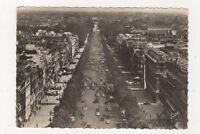 Paris Avenue des Champs Elysees France RP Postcard 866a