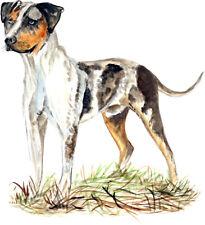 Catahoula Cur Leopard Patchwork Louisiana State Dog Hound Vinyl Decal Sticker