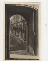 Melrose Abbey Processional Doorway To Cloister RP Postcard 496a
