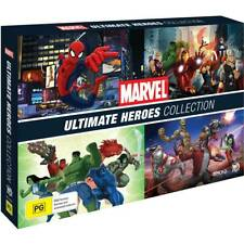MARVEL ULTIMATE HEROES ANIMATED SERIES COLLECTION NEW 16 DVD 104 EPISODES R4