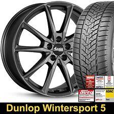 """18"""" ABE Advanti Centurio Winterräder  Radsatz Winter 225/40 Dunlop Wintersport 5"""