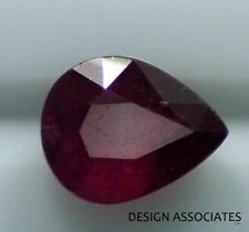 RUBY 13.09 X 10.22 MM PEAR CUT NATURAL GEMSTONE AAA 6.00 CT.