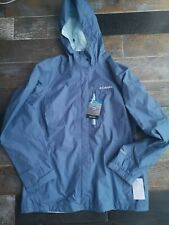 Columbia Omni-Tech Blue Ladies Jacket Size L