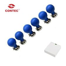 CONTEC,Nickel-plated ECG/EKG Adult Chest Electrode 4.0mm Single-ArchSuction Ball