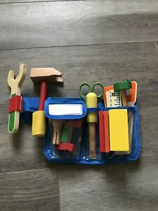 Melissa And Doug Tool Belt Role Play Builder Toy Wooden