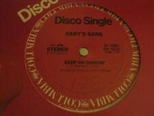 "GARY'S GANG KEEP ON DANCIN' / DO IT AT THE DISCO 12"" ORIG '78 COLUMBIA VG+"