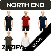 North End Ladies Performance Short Sleeve Shirt. 78675