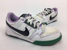 Nike Air Morgan 2 BOTY Sneakers, #386615-101, Wht/Green/Lav, Womens US Sz 7.5