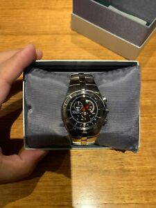 Seiko Arctura Kinetic Chronograph SNL003 7L22-0AA0 black men's watch