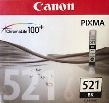 Cartouche Canon CLI-521 BK Noir cartouche d'encre neuve