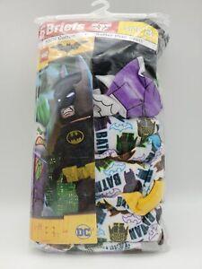 LEGO Batman Boys' Multicharacter Underwear - Size 8 - 5 Pack Briefs