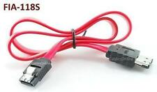 18 inch SATA to eSATA Transition Data Cable with Metal Latches - FIA-118S