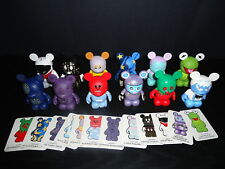 "DISNEY 3"" VINYLMATION PARK #1 SERIES COMPLETE SET OF 12 FIGURES BALLOON CHASER"