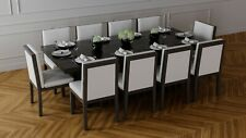 10-SEATER DINING TABLE AND 10 CHAIRS (EX-DISPLAY / HEAVILY DISCOUNTED!)