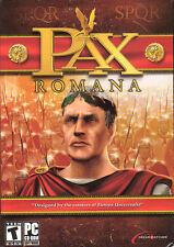 PAX ROMANA Rome Simulation PC Game NEW in BOX Win98-XP