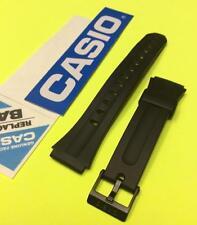 Original Casio F-201W , F-201WA  black watch Band / Strap 18mm (F201W , F201WA)