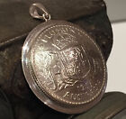 Handcrafted Australian Florin Pendant - Sterling Silver Disc - Choose the Year