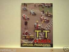 1981 DUTCH TT ASSEN PROGRAMME. GRAND PRIX,MOTO GP
