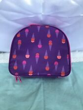 Nwt Gymboree Girls Ice Cream Cone Lunchbox Lunch Box Bag~Free Shipping