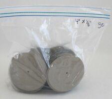 "Edinburgh Imports 50 4"" Hardboard Joint Discs 1/8"" id"