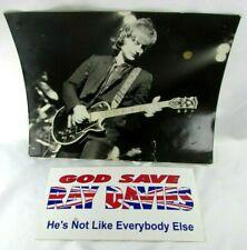 VTG Photo Bumper Sticker God Save RAY DAVIES DAVE Gibson Les Paul Artisan KINKS
