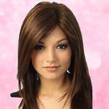 Natural Wig Women Fashion Long Straight Bob Cosplay WIGS Heat Resistant Hair