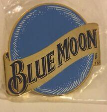 Vintage Blue Moon Beer Brewery Logo Advertising Pinback 1 1/2 Inch Lapel /hat