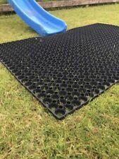 Hierba De Seguridad Jardín Al Aire Libre De Goma Esteras de gran tamaño para diapositivas Marcos de escalada Reino Unido