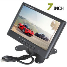 7Inch Color TFT LCD 800 x 480 Pixel HD 2-CH Video Input Car Rear View Monitor