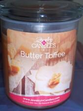 JIC, Jewelry In Candles, BUTTER TOFFEE Double Wick Candle