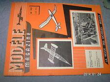 Modele Magazine n°77 Plan encarté Planeur Serie 1er parti / Sous marin Nautilus