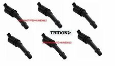 TRIDON FORD FALCON IGNITION COIL PACK BA BF COIL ON PLUG 6 IN THE KIT INC XR6