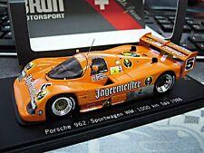 PORSCHE 962 C Spa WM 1988 #5 Brun Reuter Larrauri Jägermeister Spark limit 1:43