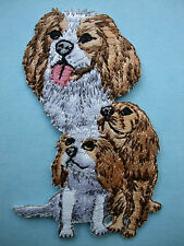 IRON-ON EMBROIDERED PATCH - CAVALIER KING CHARLES #2