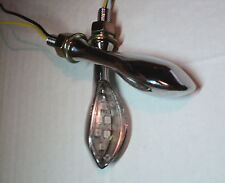 2X LED INDICATOR TURN SIGNAL SCOOTER 6V 6 VOLT 6VOLT VERSION Moped Motorbike