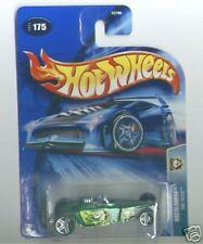 Hot Wheels 2004 Wastelanders 175 Tire Fryer Green PR5