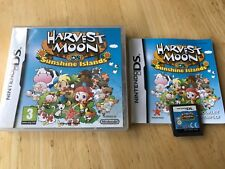 Harvest Moon Sunshine Islands Ds Game! Rare! Complete! Look In The Shop!