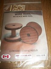 Osborn Model Kits HO Scale Wire Reels 10 pack RRA-1018 Bob The Train Guy