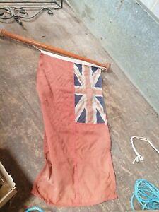 VINTAGE NAUTICAL SHIP BOAT YACHT SIGNAL CODE FLAG ENGLAND GIFT