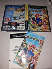 Gamecube Mario Party 7 Case and Manual Only. No disc