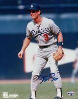 Steve Sax Signed 8X10 Photo Autograph LA Dodgers Road Fielding Auto COA