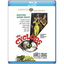 Blu Ray THE CYCLOPS. James Craig sci fi horror. Region free. New sealed.