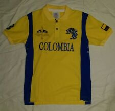 NWT WORLD CUP AMERICAN RANGER POLO COLOMBIA SOCCER SHIRT MENS YELLOW EXTRA LARGE