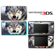Vinyl Skin Decal Cover for Nintendo 3DS - Wolf