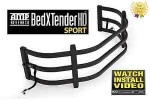 Amp-Research BedXTender HD Sport Black Color for 1982-2018 Ram Standard Bed