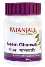 5 X patanjali Neem Ghanvati Ayurvedic Tabletten 40 GM Halloween