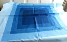 "Vtg Michelangelo Capri Scarf, Blue Embre, 30"" Square"